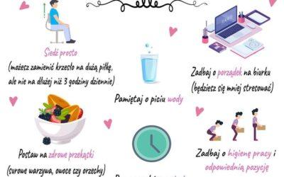 Jak zadbać o zdrowie przy pracy siedzącej?